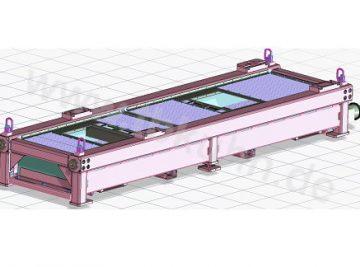 Prüfstand Konstruktion 3D Modell Maschinenbau