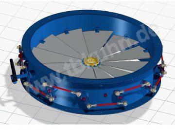Drallregler Konstruktion 3D Modell Maschinenbau
