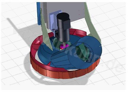 Betriebstechnik 3D Konstruktion Stauberfassung