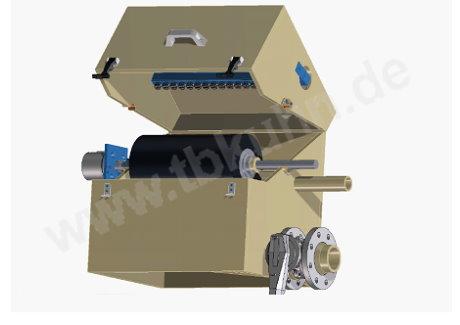 3D Konstruktion Bürstenwaschmaschine