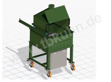 Thermalheizbad Konstruktion 3D Modell Maschinenbau