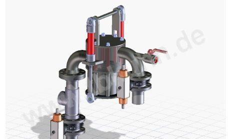 Magnetabschneider 3D Modell